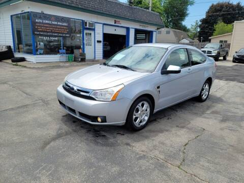 2008 Ford Focus for sale at MOE MOTORS LLC in South Milwaukee WI