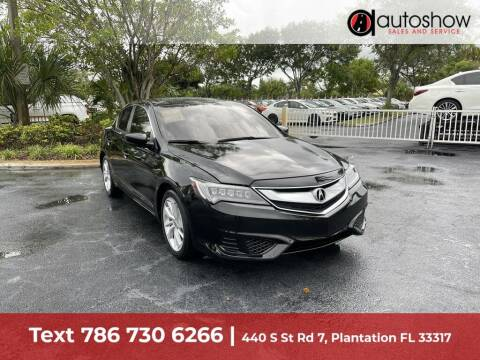 2018 Acura ILX for sale at AUTOSHOW SALES & SERVICE in Plantation FL