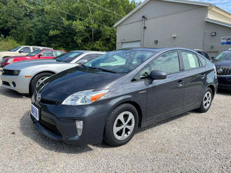2013 Toyota Prius for sale at Court House Cars, LLC in Chillicothe OH