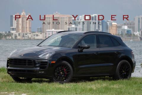 2018 Porsche Macan for sale at PAUL YODER AUTO SALES INC in Sarasota FL