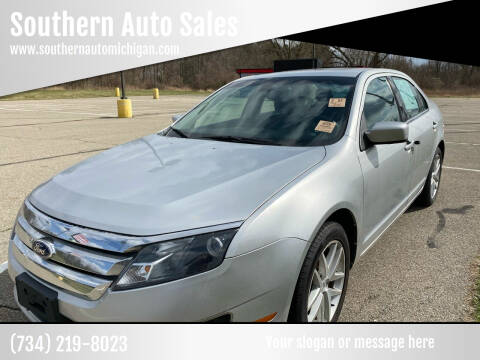 2012 Ford Fusion for sale at Southern Auto Sales in Clinton MI