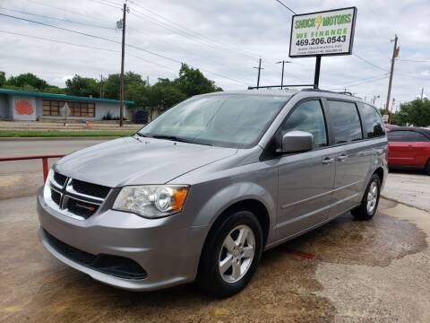 2013 Dodge Grand Caravan for sale at Shock Motors in Garland TX