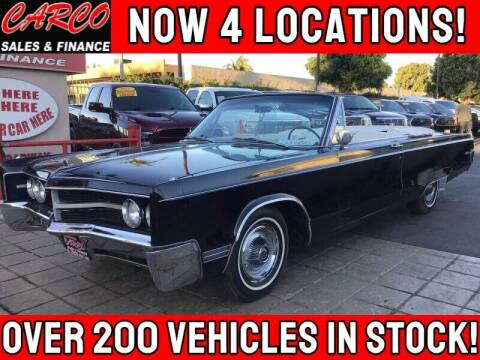 1967 Chrysler 300 for sale at CARCO SALES & FINANCE #3 in Chula Vista CA