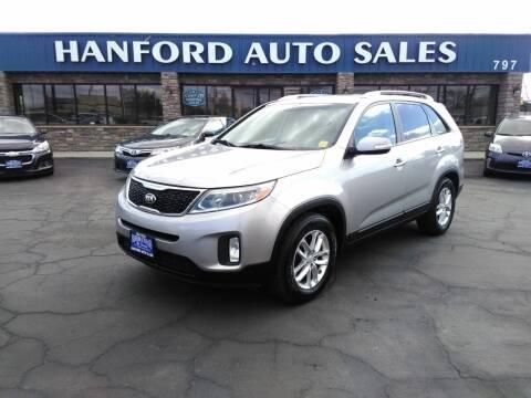 2014 Kia Sorento for sale at Hanford Auto Sales in Hanford CA