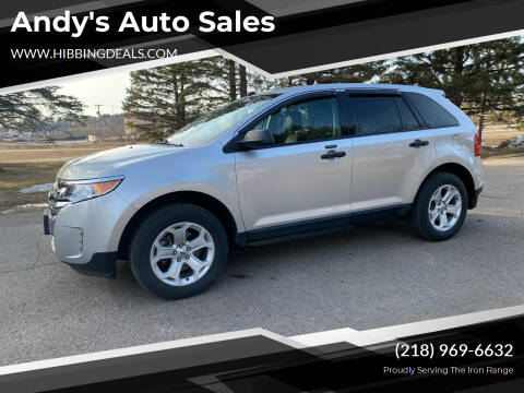 2013 Ford Edge for sale at Andy's Auto Sales in Hibbing MN
