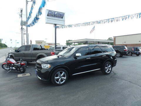 2012 Dodge Durango for sale at DeLong Auto Group in Tipton IN