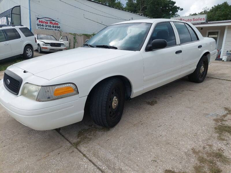 2007 Ford Crown Victoria for sale at NINO AUTO SALES INC in Jacksonville FL