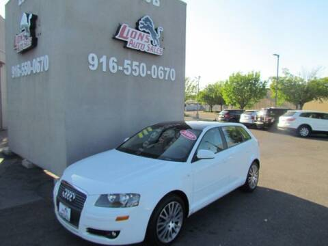 2008 Audi A3 for sale at LIONS AUTO SALES in Sacramento CA