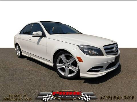 2011 Mercedes-Benz C-Class for sale at PRIME MOTORS LLC in Arlington VA