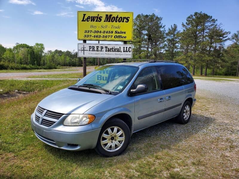 2006 Dodge Caravan for sale at Lewis Motors LLC in Deridder LA