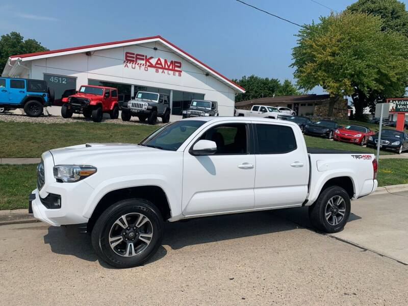 2016 Toyota Tacoma for sale at Efkamp Auto Sales LLC in Des Moines IA