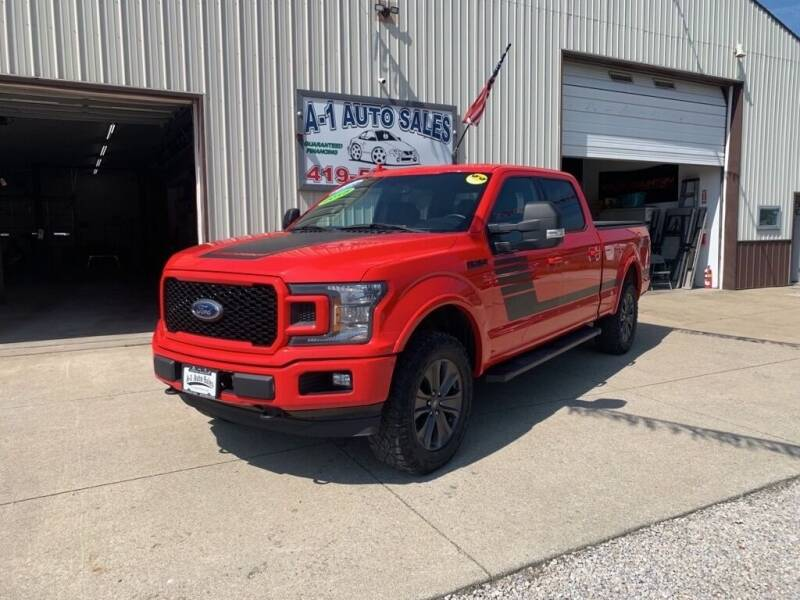 2018 Ford F-150 for sale at A-1 AUTO SALES in Mansfield OH