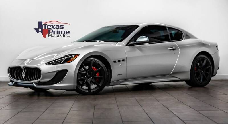 2013 Maserati GranTurismo for sale at Texas Prime Motors in Houston TX