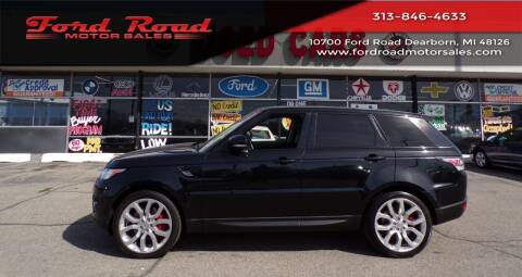 2015 Land Rover Range Rover Sport for sale at Ford Road Motor Sales in Dearborn MI