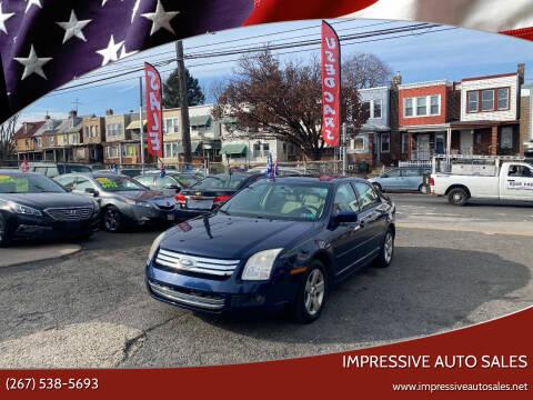 2007 Ford Fusion for sale at Impressive Auto Sales in Philadelphia PA