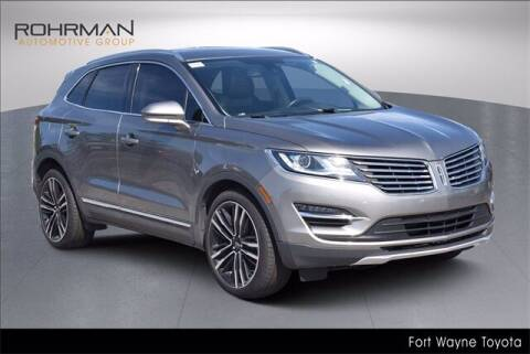 2017 Lincoln MKC for sale at BOB ROHRMAN FORT WAYNE TOYOTA in Fort Wayne IN