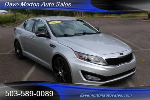 2013 Kia Optima for sale at Dave Morton Auto Sales in Salem OR