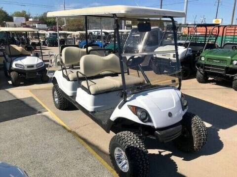 2014 Yamaha 6 Passenger Lift EFI Gas for sale at METRO GOLF CARS INC in Fort Worth TX
