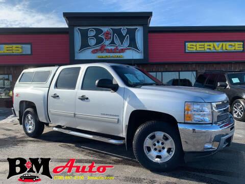 2013 Chevrolet Silverado 1500 for sale at B & M Auto Sales Inc. in Oak Forest IL