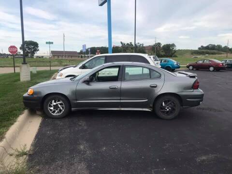 2004 Pontiac Grand Am for sale at Cannon Falls Auto Sales in Cannon Falls MN