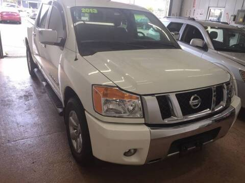 2013 Nissan Titan for sale at Antonio's Auto Sales in South Houston TX
