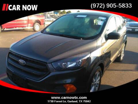 2018 Ford Escape for sale at Car Now Dallas in Dallas TX