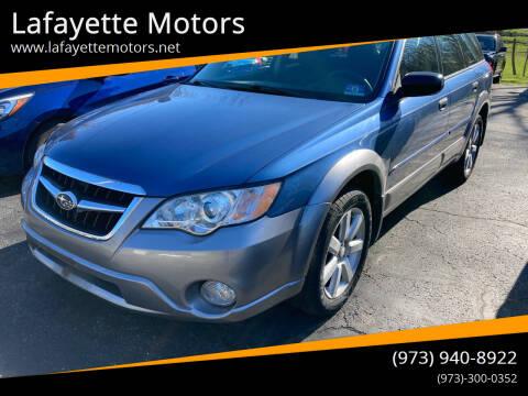 2008 Subaru Outback for sale at Lafayette Motors in Lafayette NJ