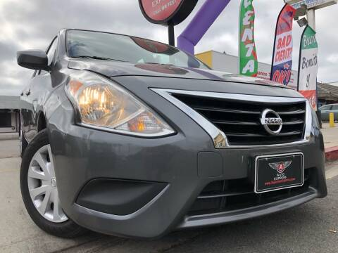 2017 Nissan Versa for sale at Auto Express in Chula Vista CA