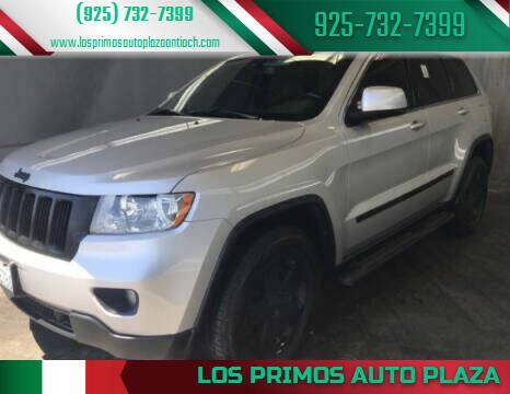 2011 Jeep Grand Cherokee for sale at Los Primos Auto Plaza in Antioch CA