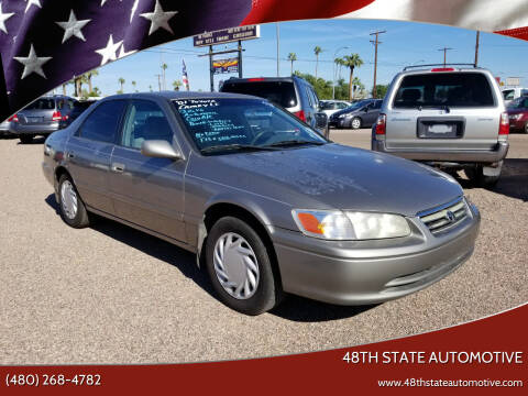 2001 Toyota Camry for sale at 48TH STATE AUTOMOTIVE in Mesa AZ