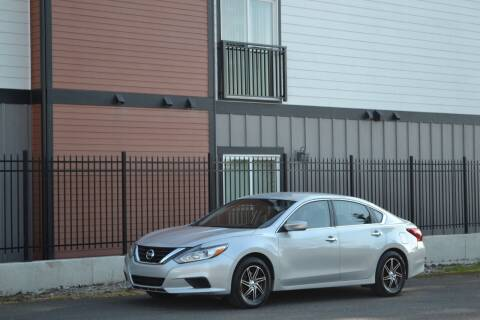 2016 Nissan Altima for sale at Skyline Motors Auto Sales in Tacoma WA