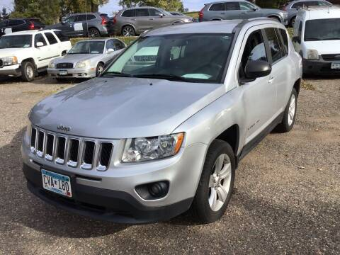 2012 Jeep Compass for sale at Sparkle Auto Sales in Maplewood MN