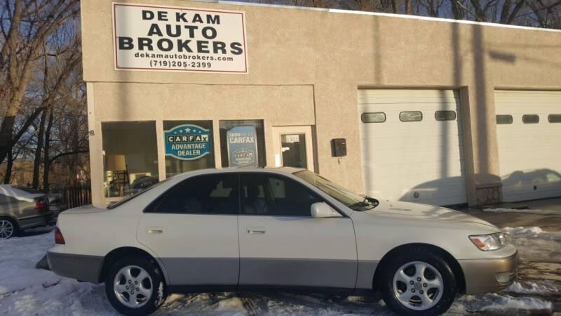 1997 Lexus ES 300 for sale at De Kam Auto Brokers in Colorado Springs CO