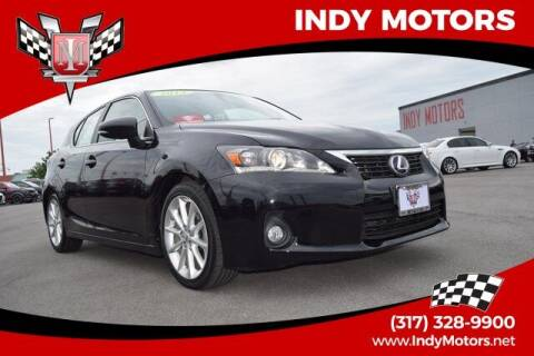 2013 Lexus CT 200h for sale at Indy Motors Inc in Indianapolis IN