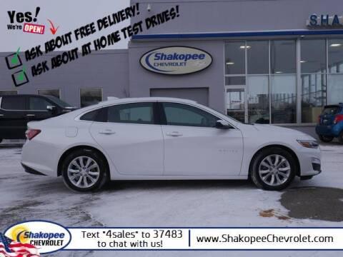 2019 Chevrolet Malibu for sale at SHAKOPEE CHEVROLET in Shakopee MN