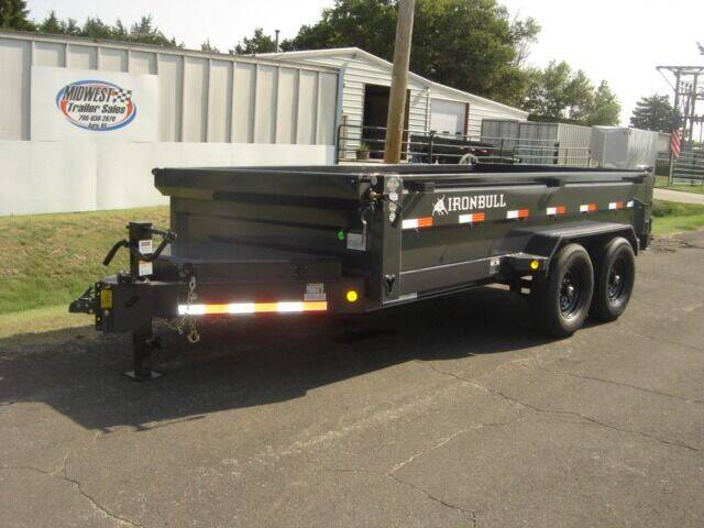 2022 83 X 14 IRON BULL DUMP for sale at Midwest Trailer Sales & Service in Agra KS