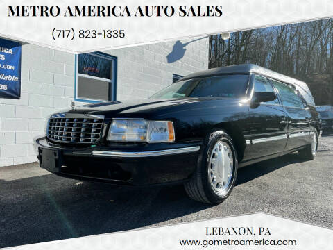 1998 Cadillac DeVille for sale at METRO AMERICA AUTO SALES of Lebanon in Lebanon PA