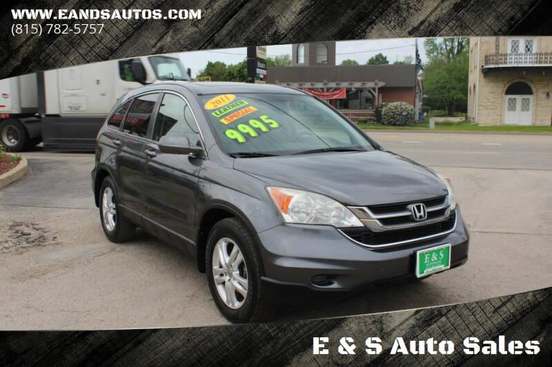 2011 Honda CR-V for sale at E & S Auto Sales in Crest Hill IL