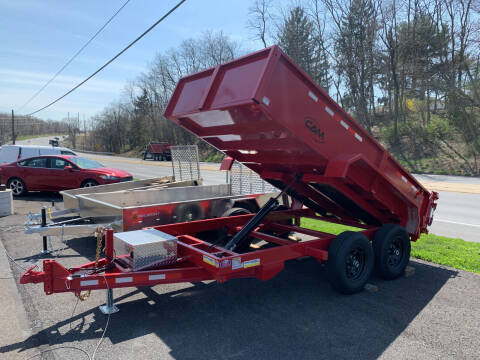 2021 Cam Superline 6x12 Advantage Dump Trailer  for sale at Smart Choice 61 Trailers in Shoemakersville PA