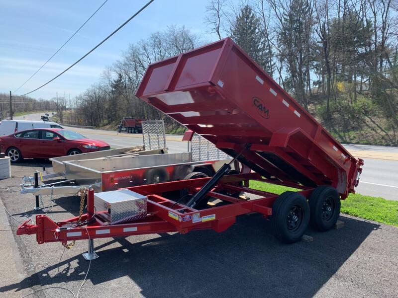 2021 Cam Superline 6x12 Advantage Dump Trailer  for sale at Smart Choice 61 Trailers in Shoemakersville PA