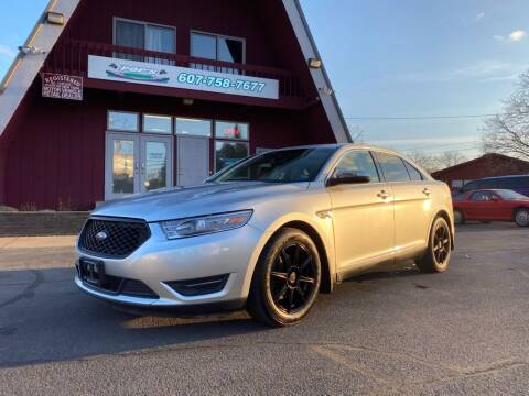 2013 Ford Taurus for sale at Pop's Automotive in Homer NY