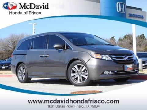 2014 Honda Odyssey for sale at DAVID McDAVID HONDA OF IRVING in Irving TX