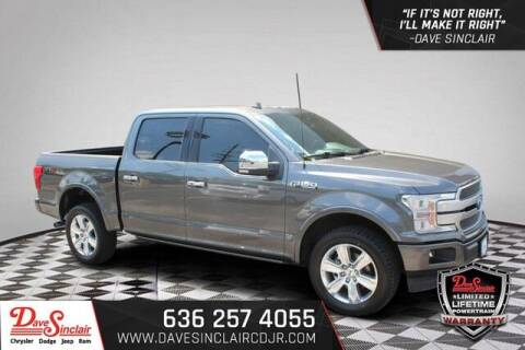 2019 Ford F-150 for sale at Dave Sinclair Chrysler Dodge Jeep Ram in Pacific MO