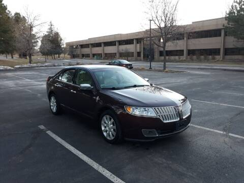 2012 Lincoln MKZ for sale at QUEST MOTORS in Englewood CO