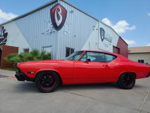 1968 Chevy Chevelle SS for sale at Barrett Auto Gallery in San Juan TX