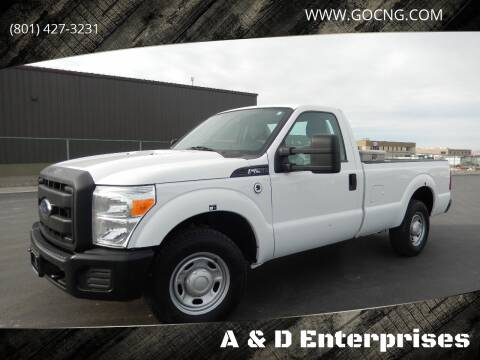 2013 Ford F-250 Super Duty for sale at A&D Enterprises in Spanish Fork UT