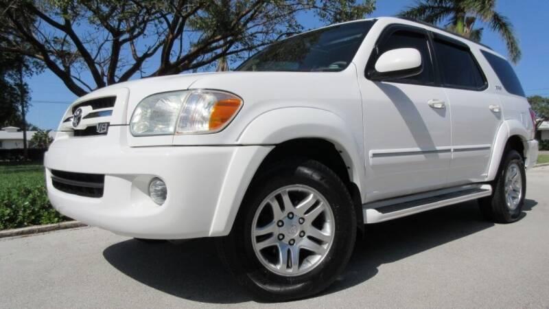2006 Toyota Sequoia for sale at DS Motors in Boca Raton FL