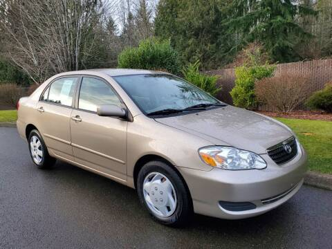 2005 Toyota Corolla for sale at Money Man Pawn (Auto Division) in Black Diamond WA