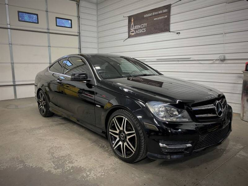 2014 Mercedes-Benz C-Class for sale at Queen City Classics in West Chester OH