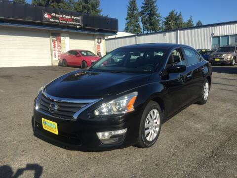 2015 Nissan Altima for sale at Federal Way Auto Sales in Federal Way WA